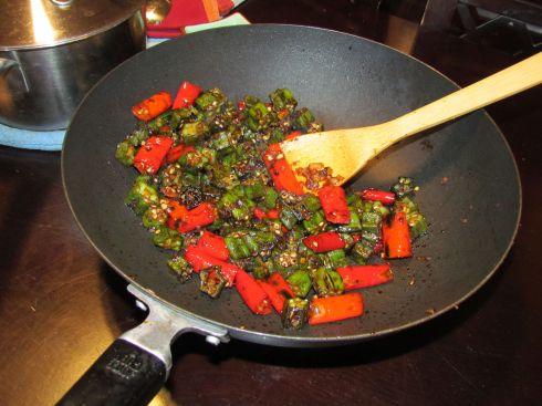 Stir Fried Okra