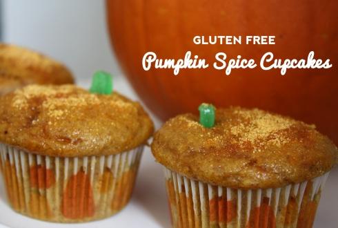 Gluten Free Pumpkin Spice Cupcakes