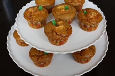 Gluten Free Pumpkin Spice Cupcake Tray