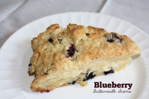 BlueberryButtermilkScone