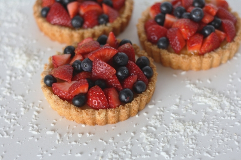 Almond and Coconut Tartlettes