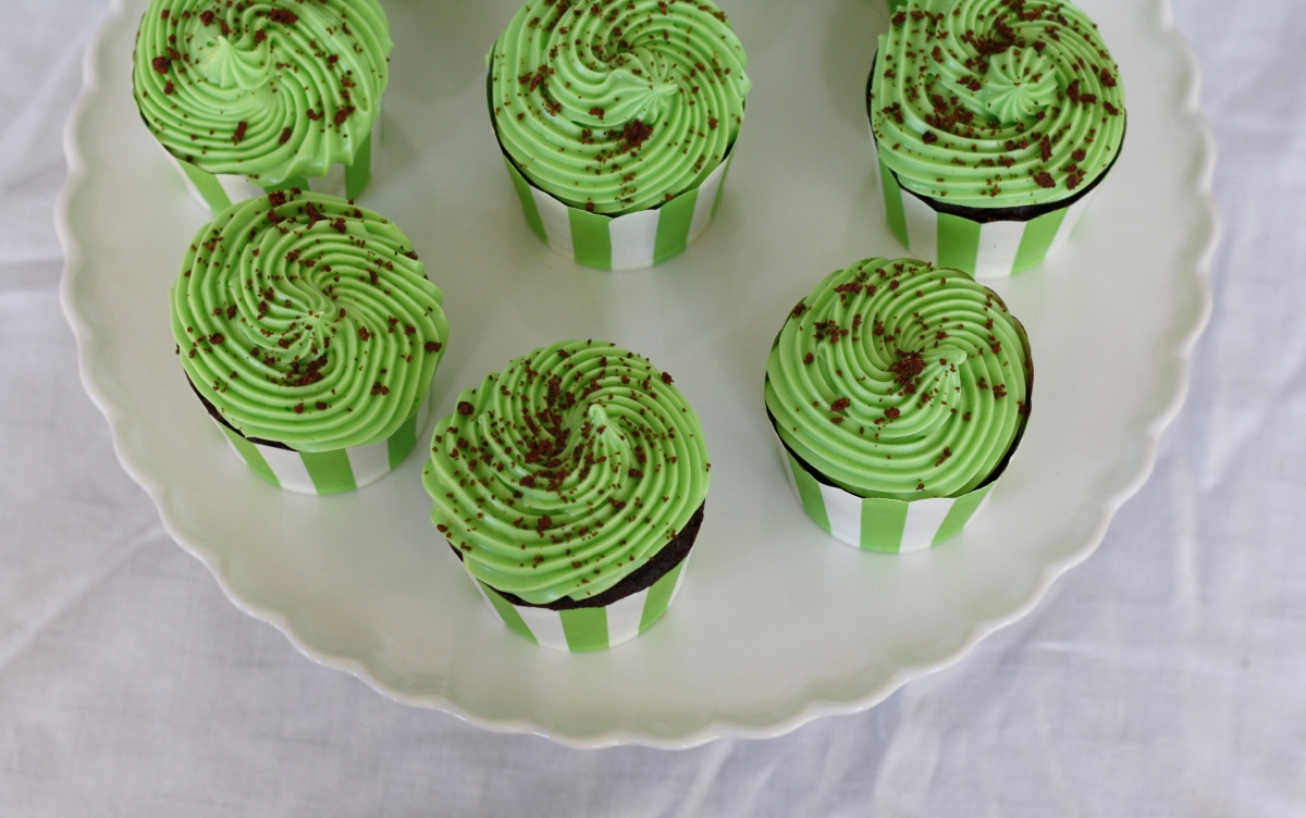 Thin Mints Cupcakes