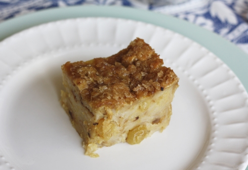 SliceMatzahBreadPudding
